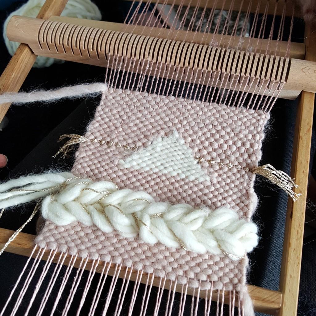 atelier tissage laine