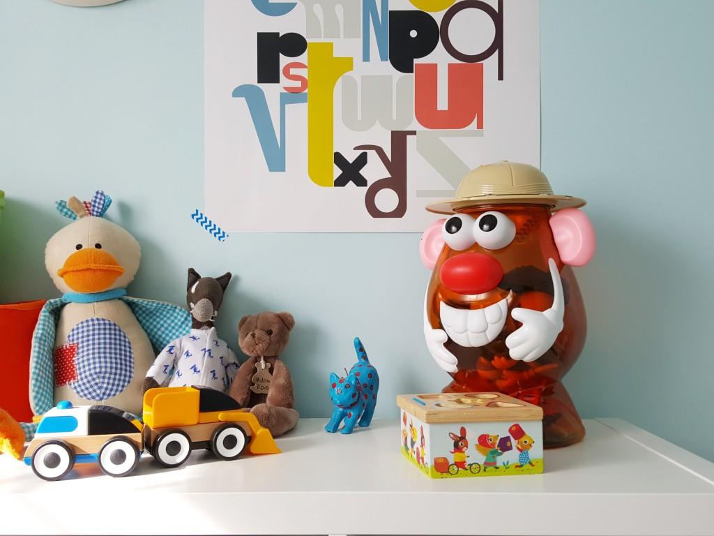 chambre de bébé jouets