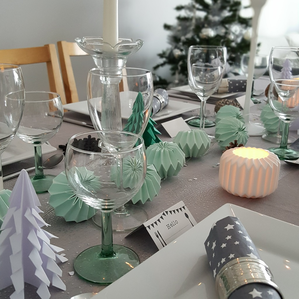 décoration noël table